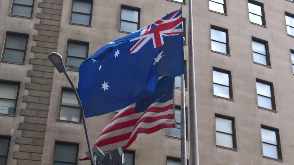 september 11 2021 australian flag raising